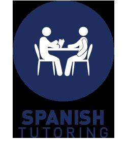 Spanish language tutoring table