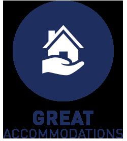 Host family accommodations