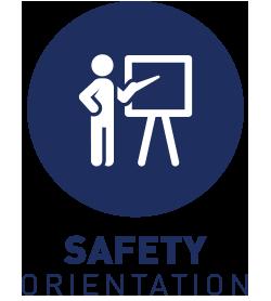 Program and safety orientation
