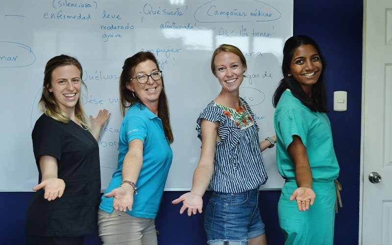 Service Learning for Spanish Majors