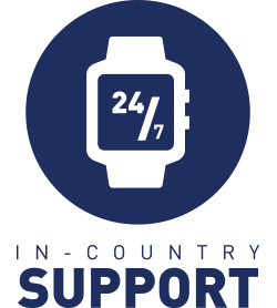 24/7 In Country Support