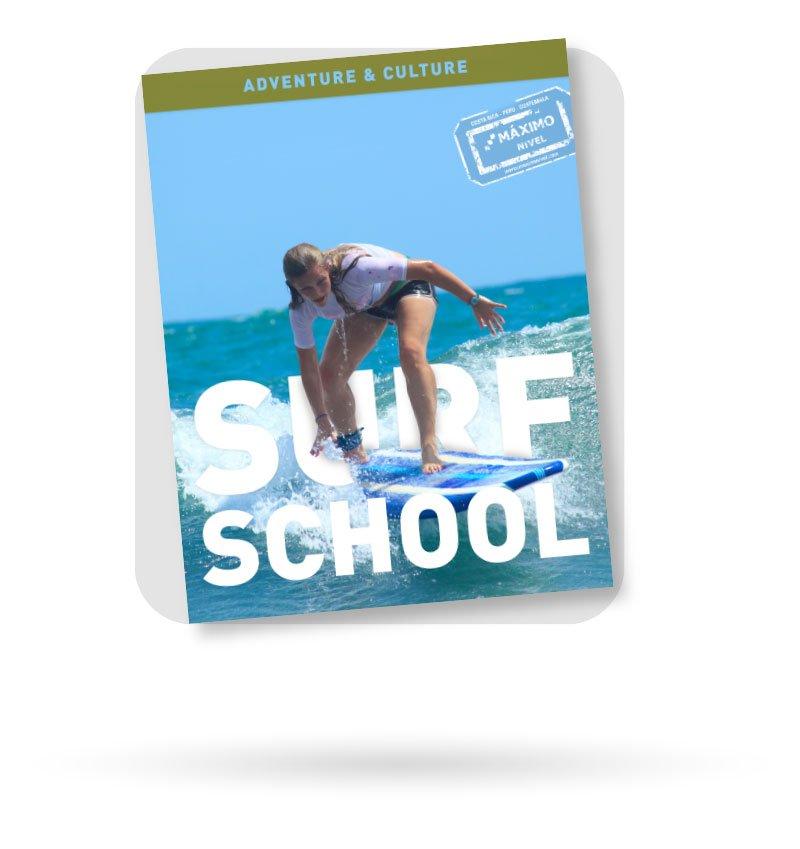 Surf School Brochure