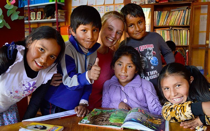 Service Learning in Peru