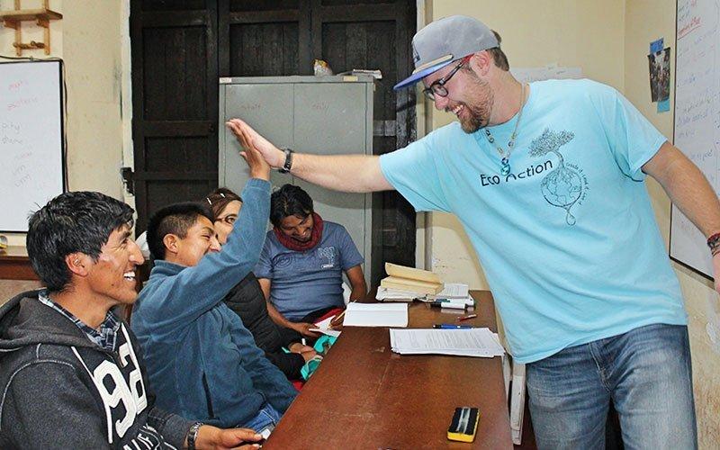 Volunteer Teaching in Guatemala
