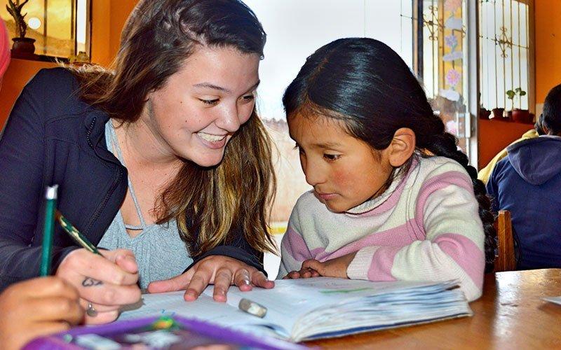 Volunteer Teaching English in Peru