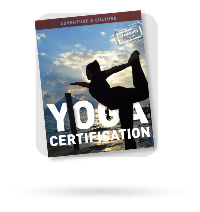 Yoga Teacher Certification Brochure